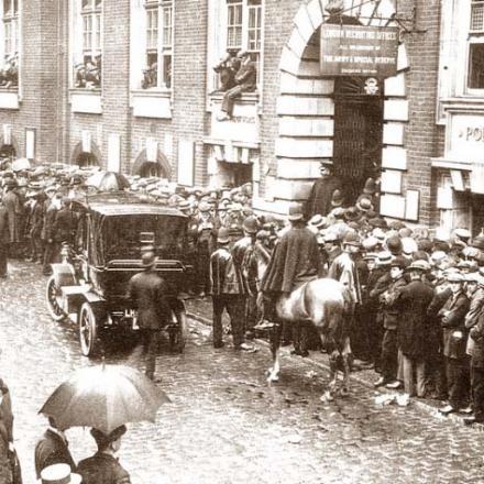 Reclutamento inglese 1914