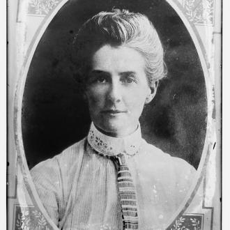 Edith Cavell. © Congress Library pnp_ggbain.20322